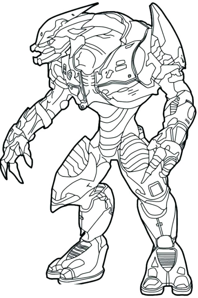 639x960 Reach Spartan Halo Coloring Pages Free Printable 5 Master Chief