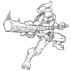 230x230 Top 25 Free Printable Ninja Turtles Coloring Pages Online