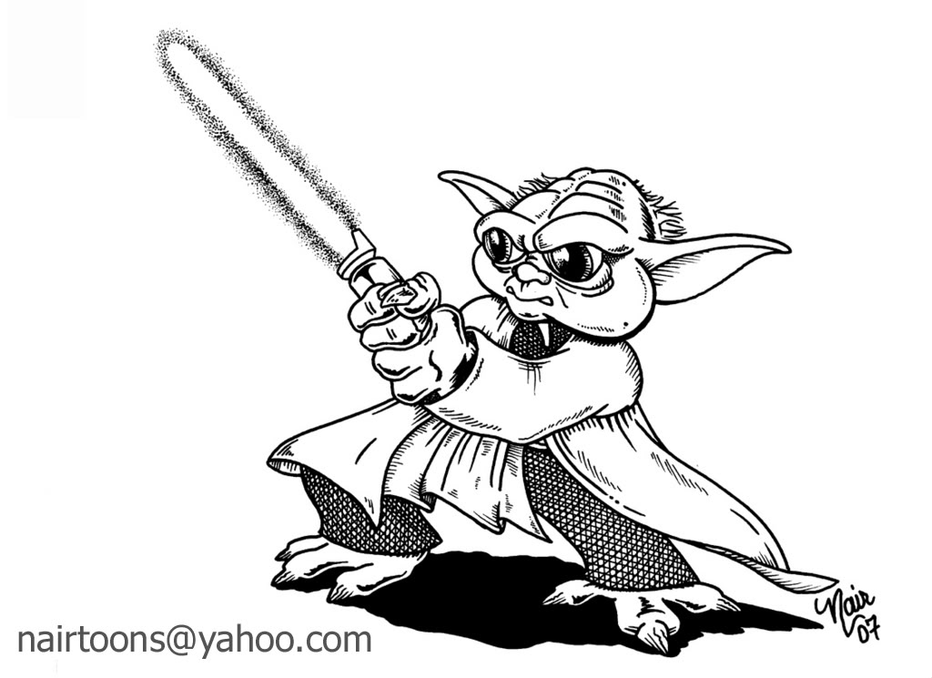 1024x745 Simple Yoda Coloring Pages. Yoda Star Wars Coloring Pages Free