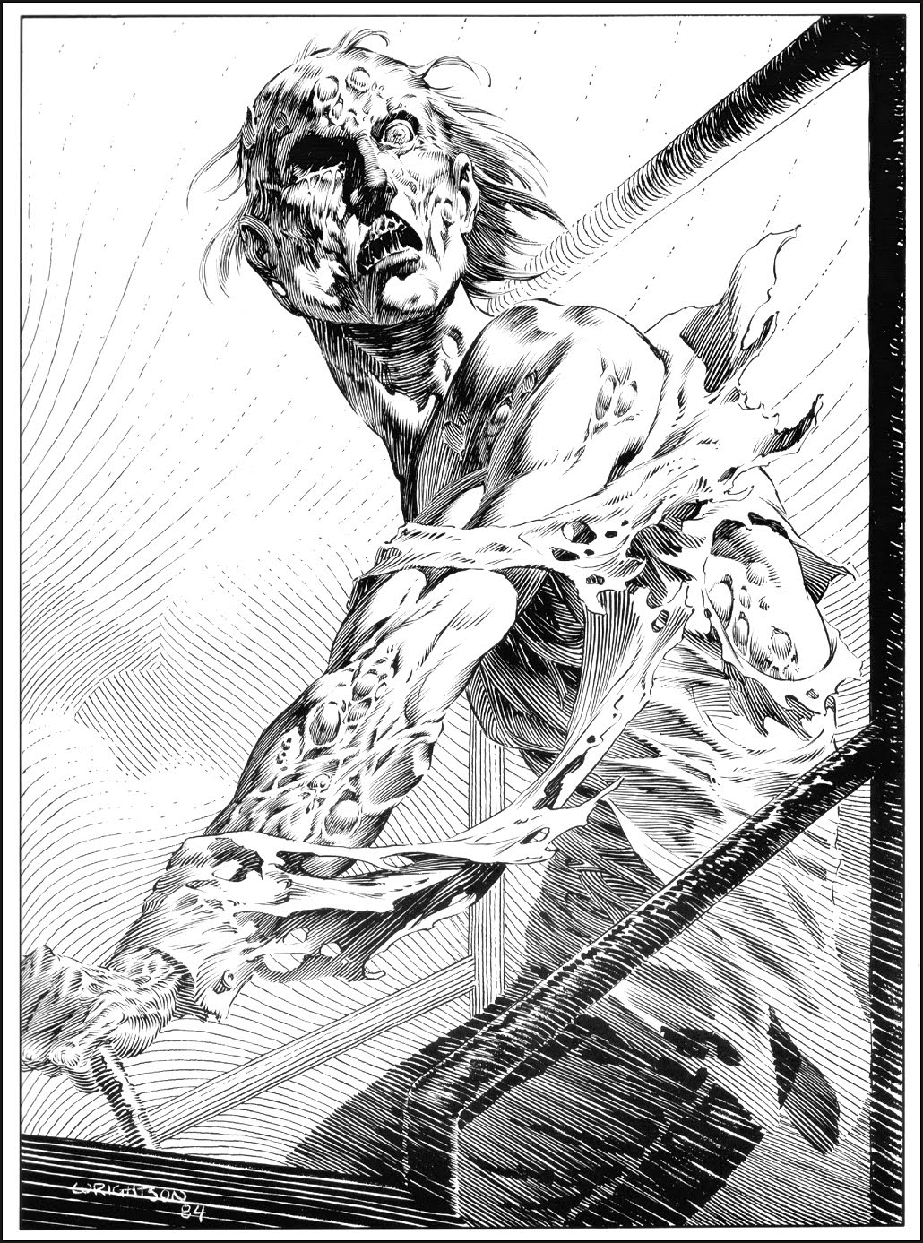1030x1387 Berni Wrightson Illustrating Stephen King's Masterpiece The Stand