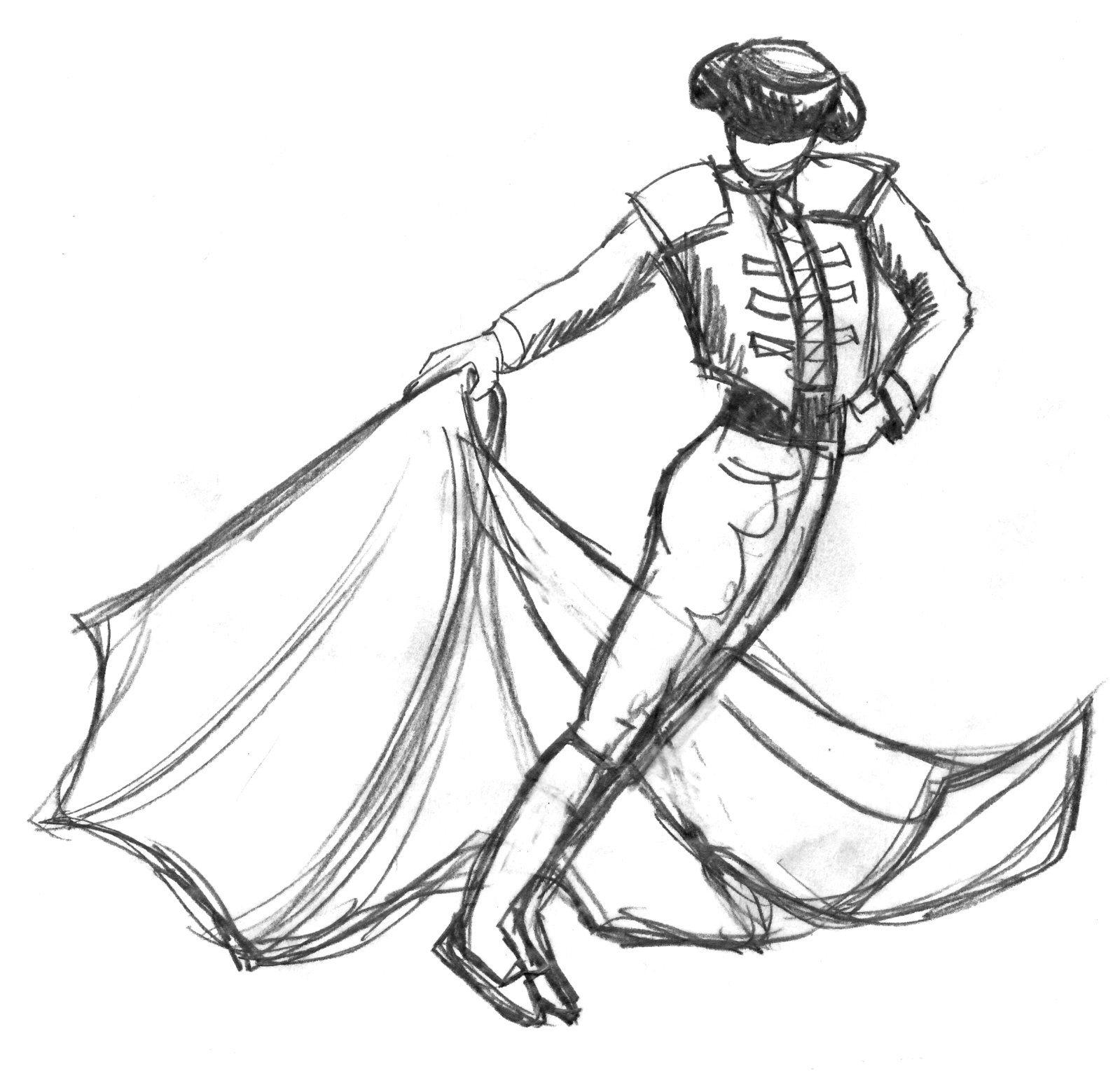 Matador Drawing at GetDrawings.com | Free for personal use ...