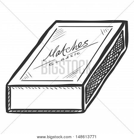 450x470 Vector Sketch Closed Matchbox Vector Amp Photo Bigstock