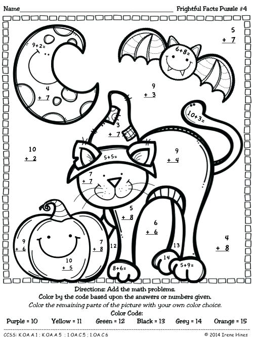500x667 Awesome Coloring Pages With Math Problems Crayola Photo Games Fun