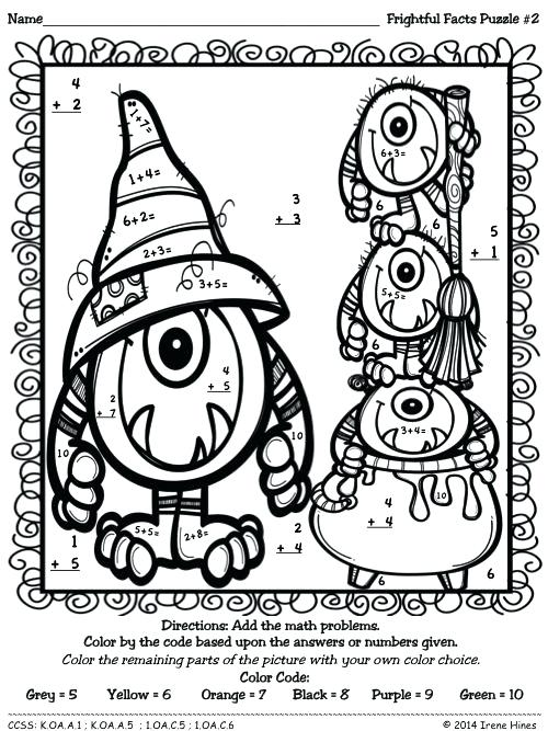 500x667 Coloring Pages With Math Problems