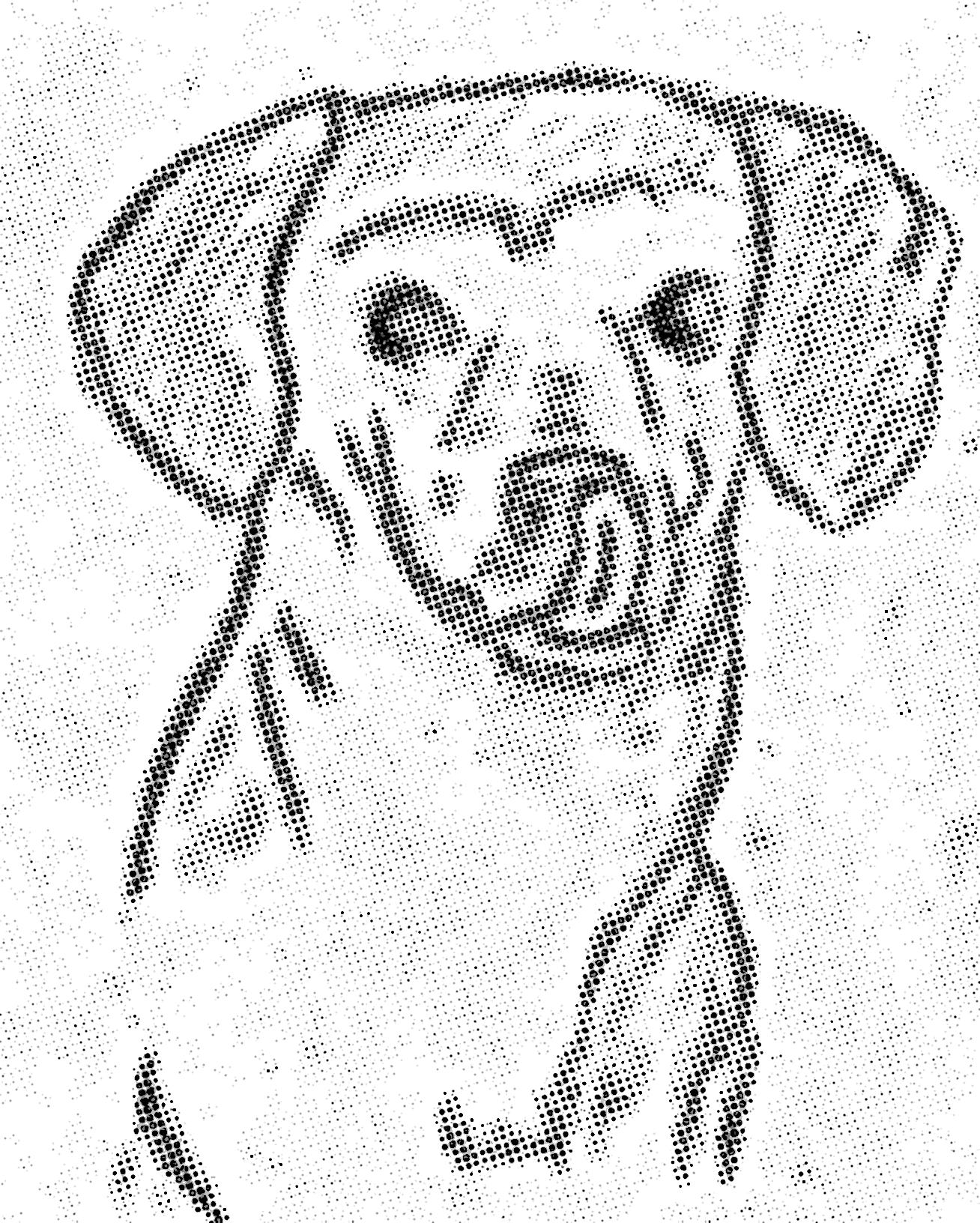 1308x1632 Josie Drawing Dot Matrix General Lordisimo's Apocalypse
