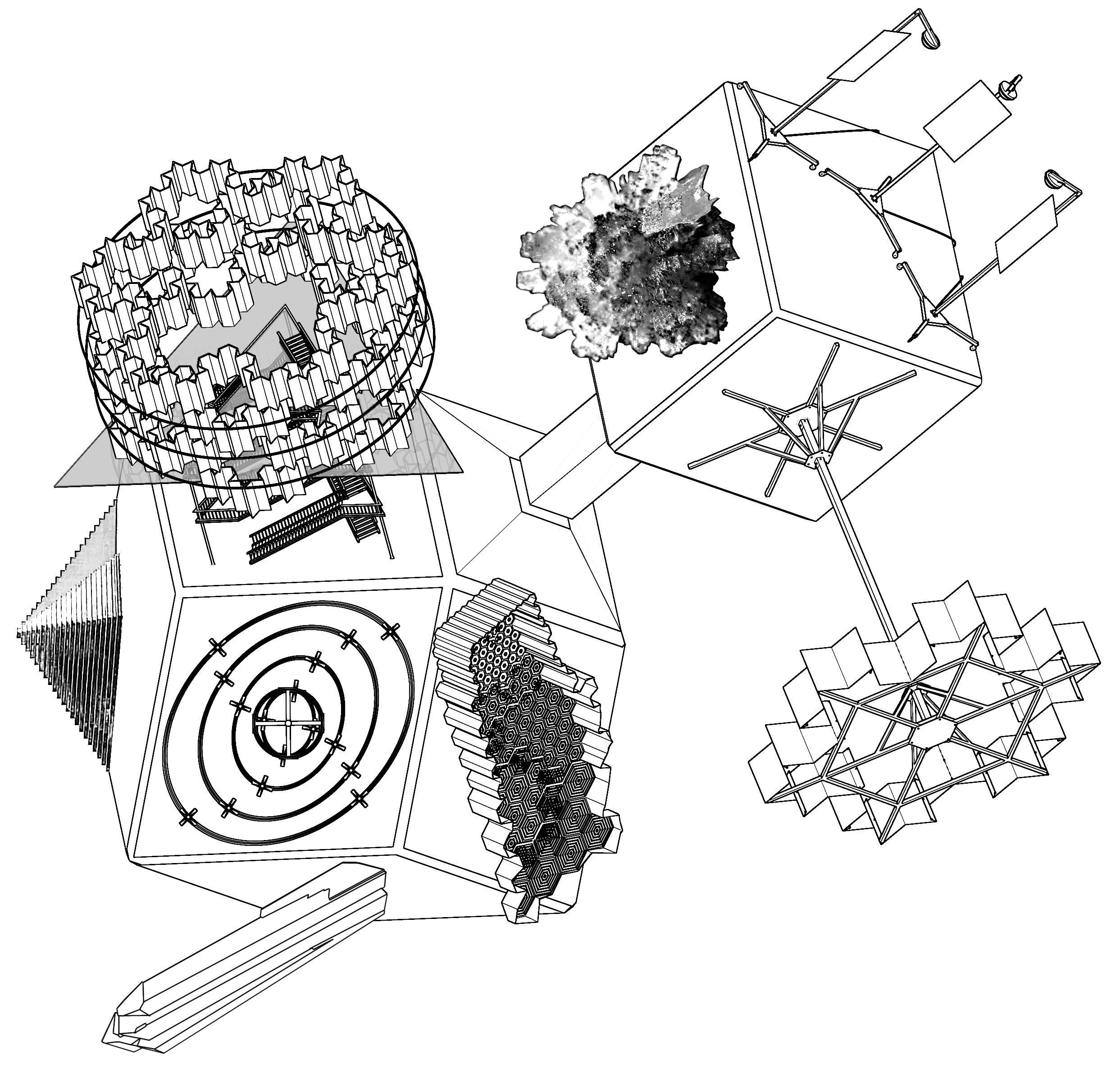 2486x2392 Matrix A Trip In Generative Art