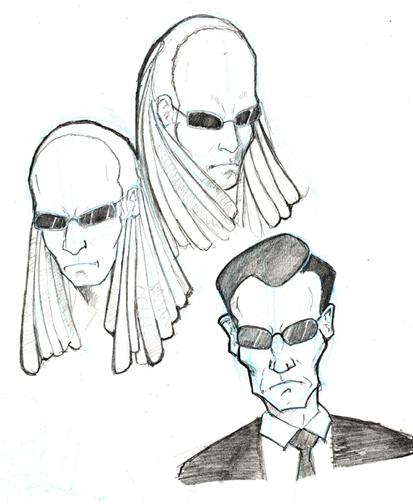 413x504 Matrix Sketch By Jdurden44