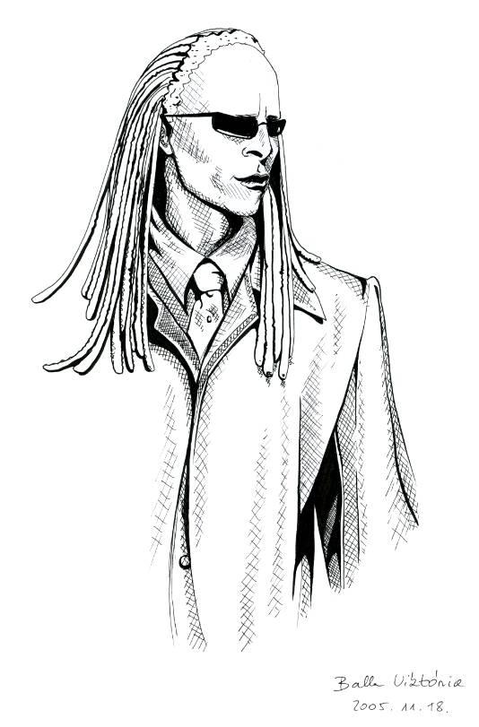 534x811 The Matrix Twin Drawing By Izar
