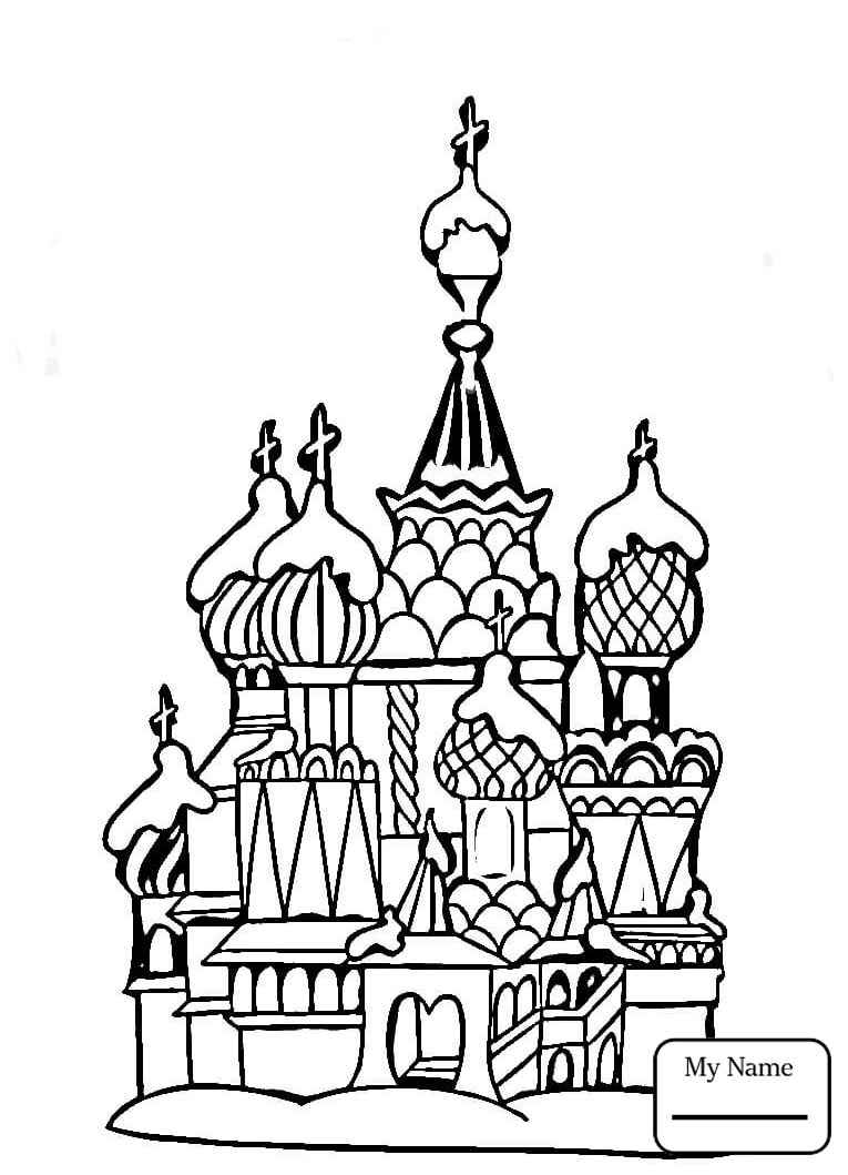 765x1059 Matryoshka Dolls Countries Cultures Coloring Pages For Kids