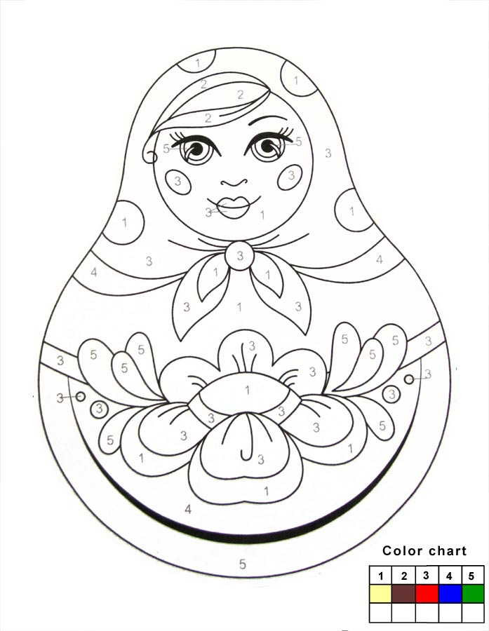 697x900 Russian Matryoshka Dolls To Paint Arts For Kids Let Your Kids