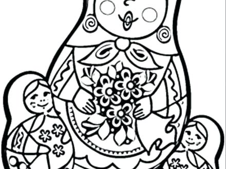 440x330 Coloring Pages Of Dolls Doll Coloring Pages Free Paper Doll