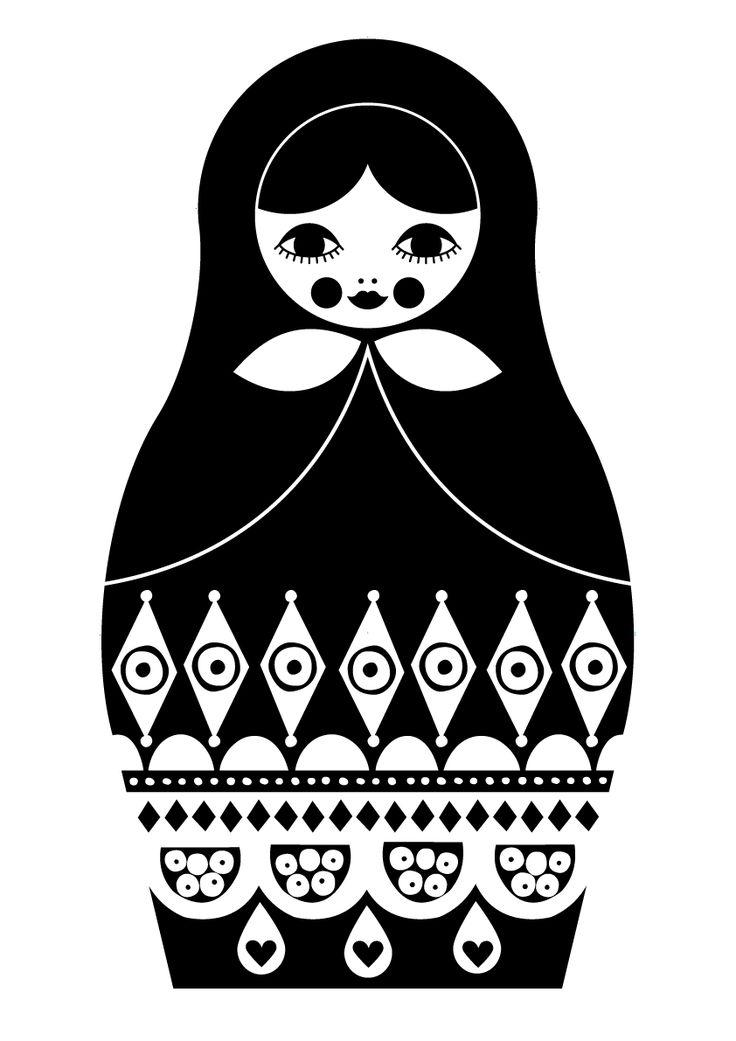 Matryoshka Drawing