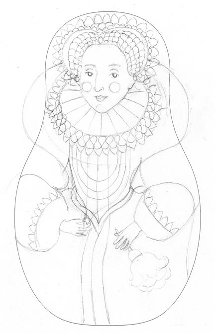 432x672 Amy Perrotti Queen Elizabeth I
