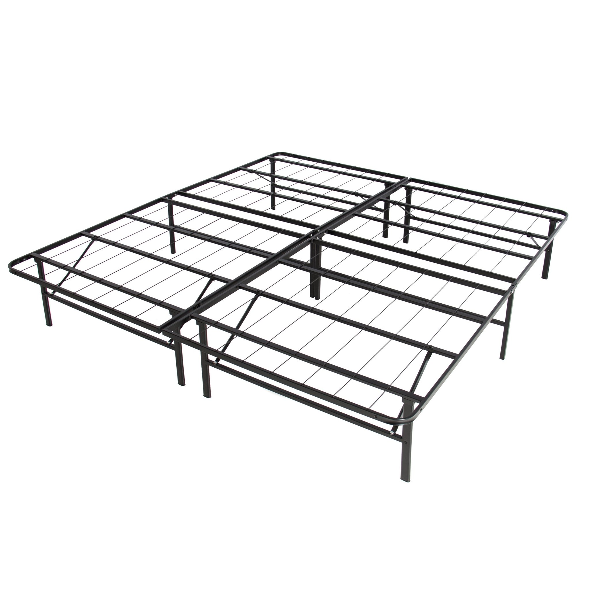 2048x2048 King Foldable Metal Bed Frame