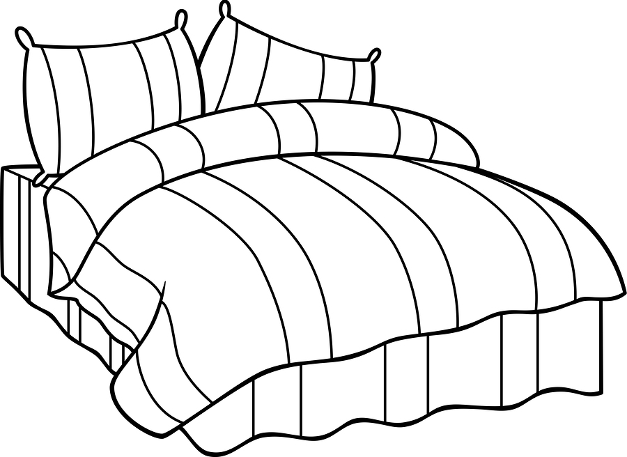 900x656 Contemporary Bed Drawing Images Hd Image Galleries On Hdimagelib