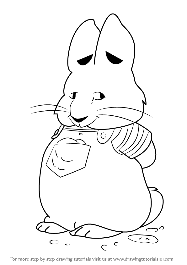 596x843 Learn How To Draw Max From Max And Ruby (Max And Ruby) Step By