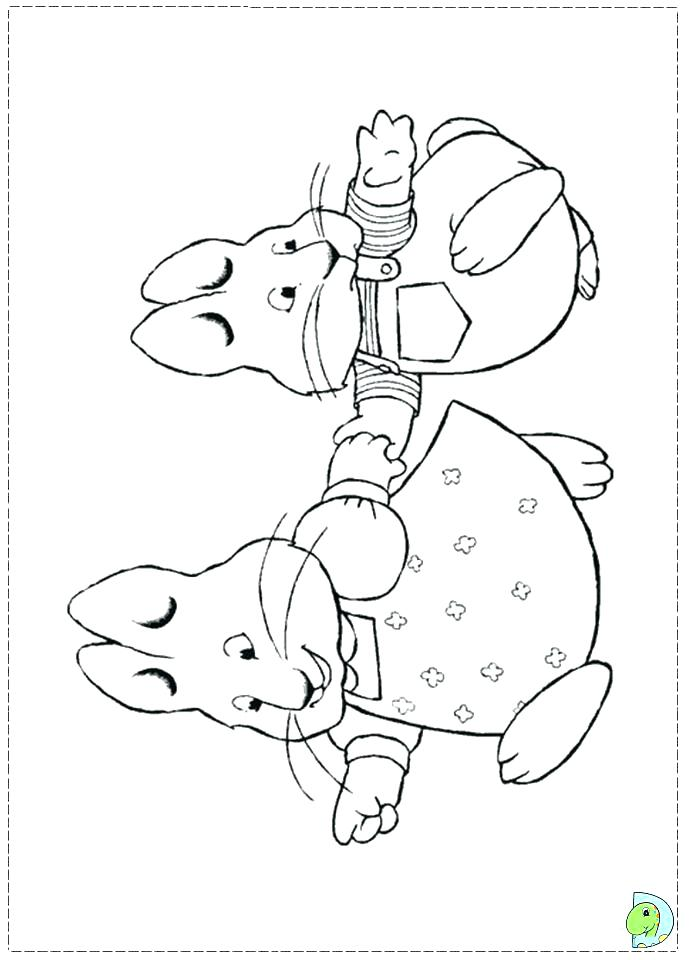 691x960 Max And Ruby Coloring Pages Max And Ruby Coloring Pages Print Max