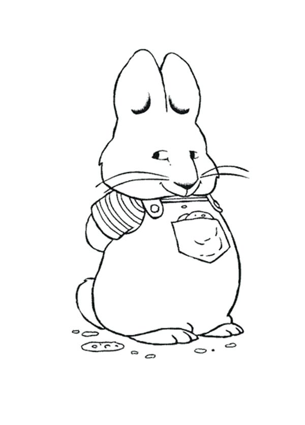 600x834 Max Ruby Coloring Pages Max And Ruby Free Colouring Pages View