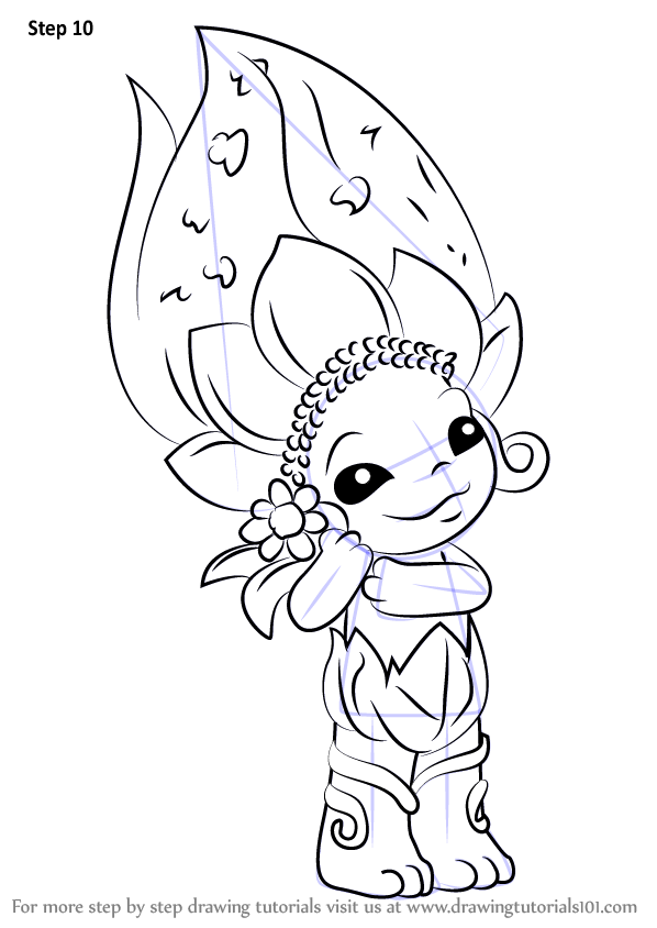 598x844 Learn How To Draw Daisy May From The Zelfs (The Zelfs) Step By