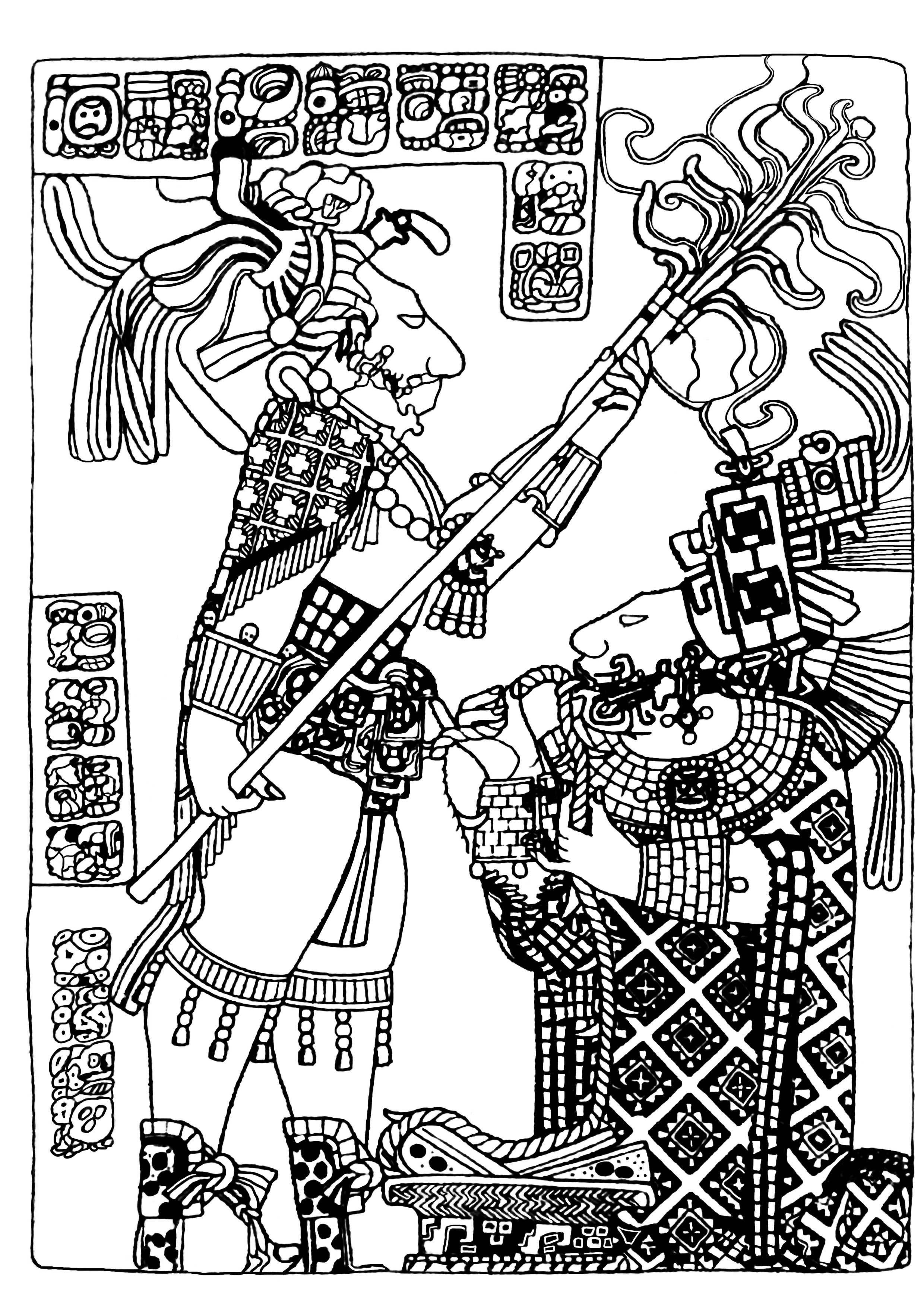 2480x3508 Maya Art British Museum 4 Mayans Amp Incas