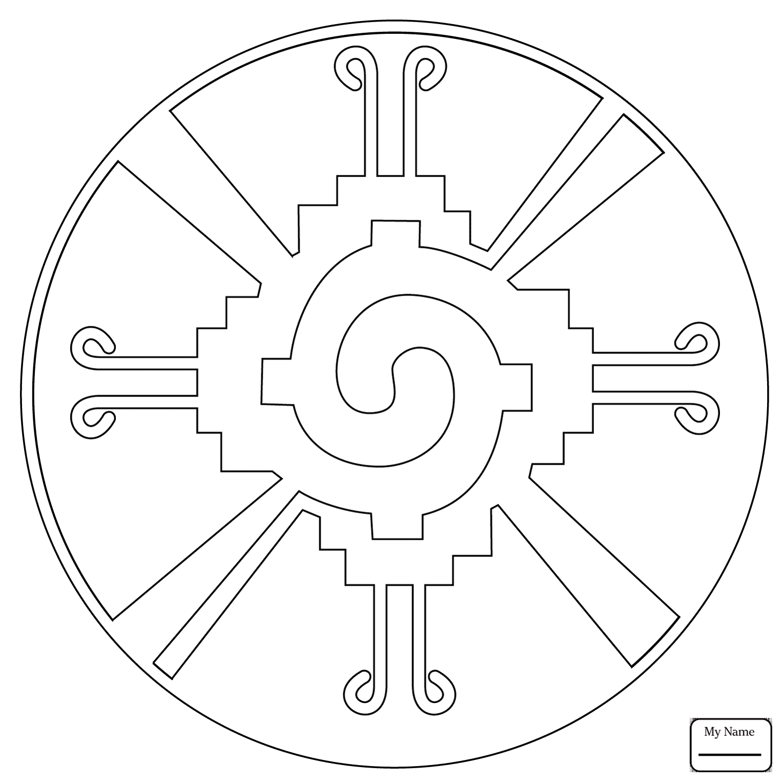 1530x1530 Coloring Pages For Kids Arts Culture Mayan Art 16th Maya Month Pax