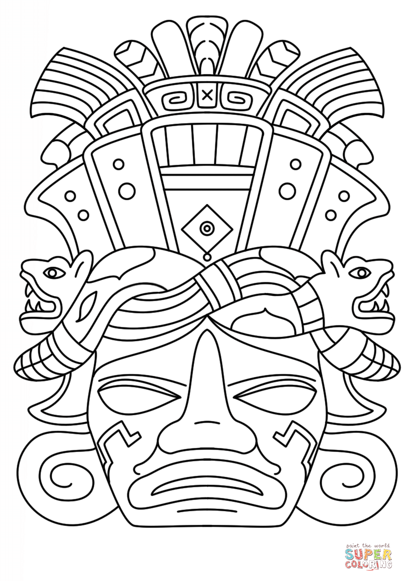 Mayan Calendar Drawing at GetDrawings