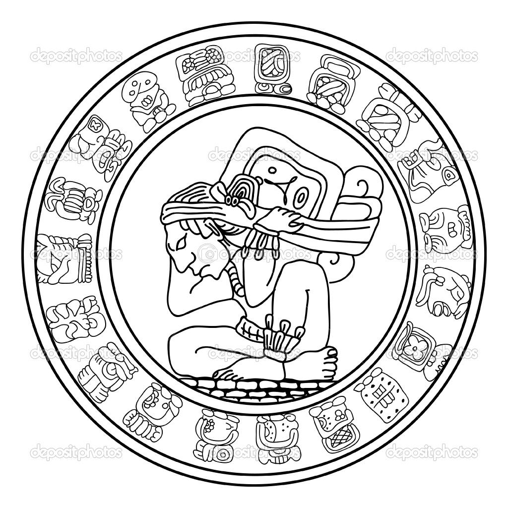 1024x1024 Mayan Calendar Symbol Choice Image