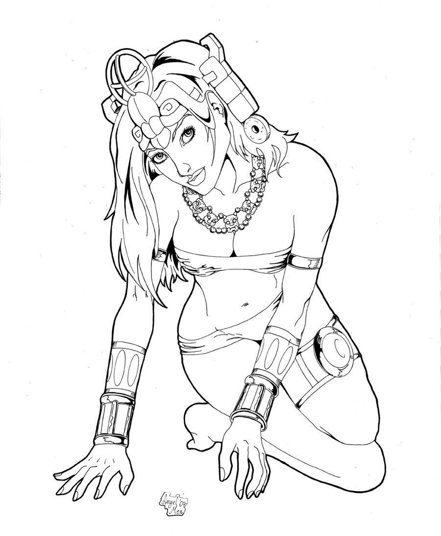 900x1094 Mayan Princess 4 By Luisangelmex