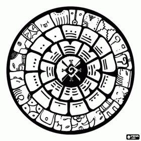 Mayan Pyramid Drawing