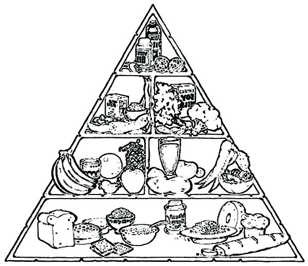 600x517 Pyramid Coloring Page Original Food Pyramid Coloring Page Egypt