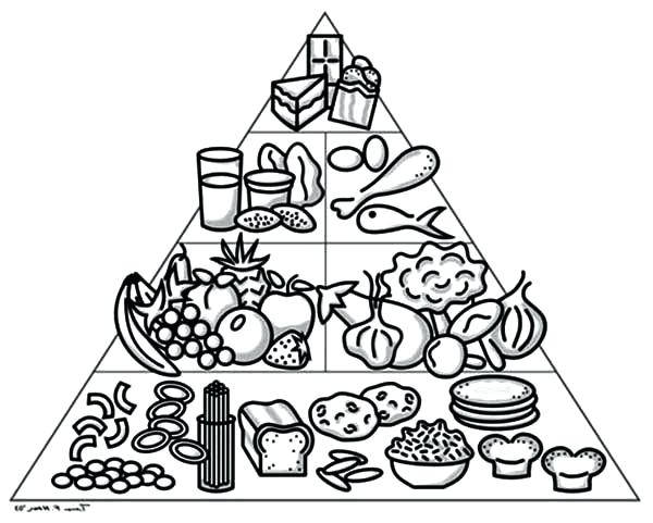 600x481 Pyramid Coloring Pages Line Drawings Online Food Pyramid Coloring