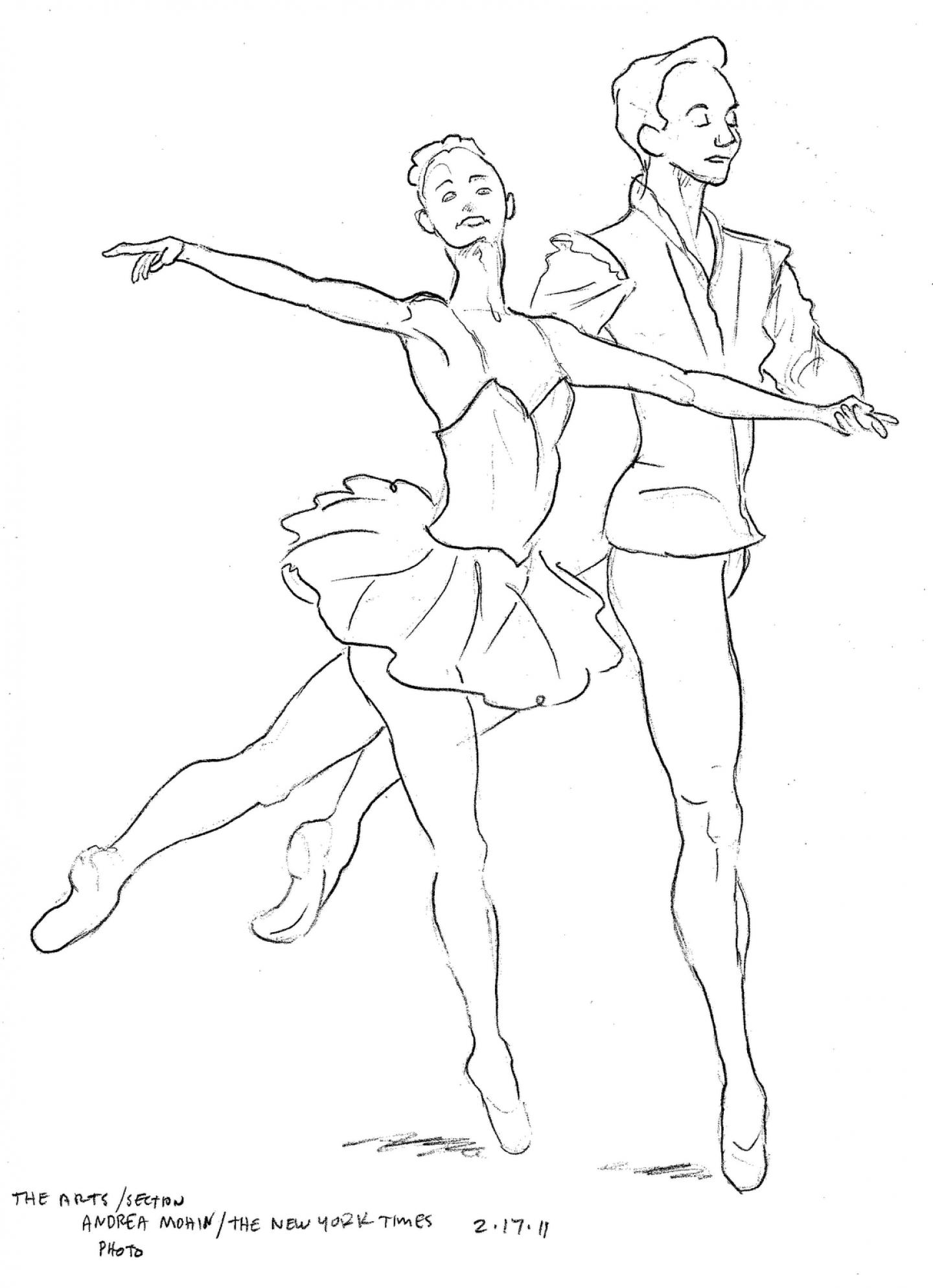 1440x1987 Ballet Dancer Coloring Pages Pictures Imagixs