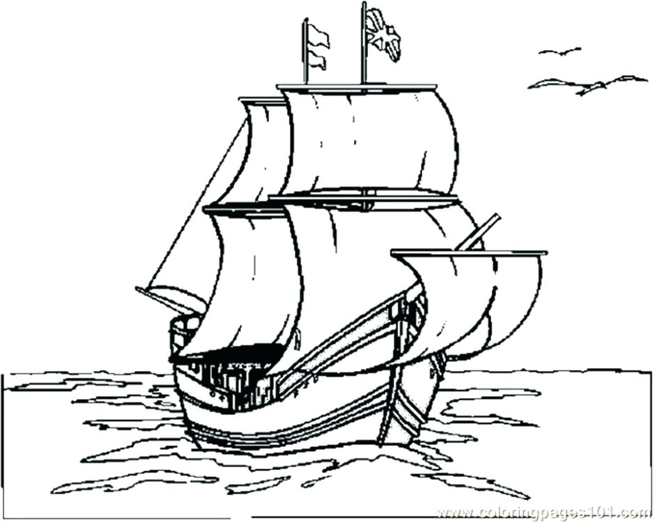 940x750 Mayflower Coloring Pages Mayflower Coloring Pages Mayflower
