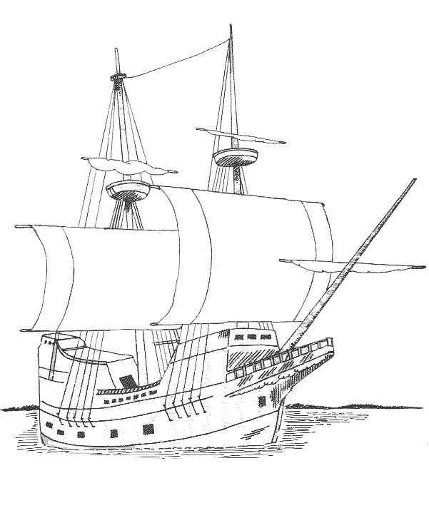 plymouth rock coloring pages - photo#43