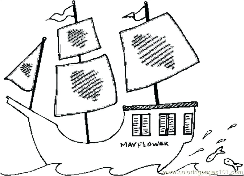 1024x738 Mayflower Coloring Page Fresh Mayflower Coloring Page For Coloring