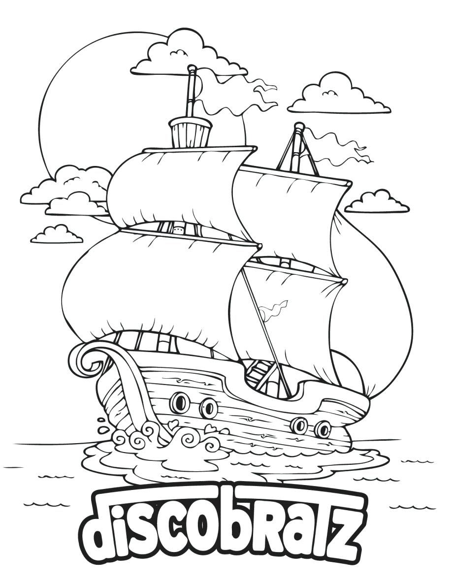 Mayflower ship drawing at free for for Mayflower coloring page
