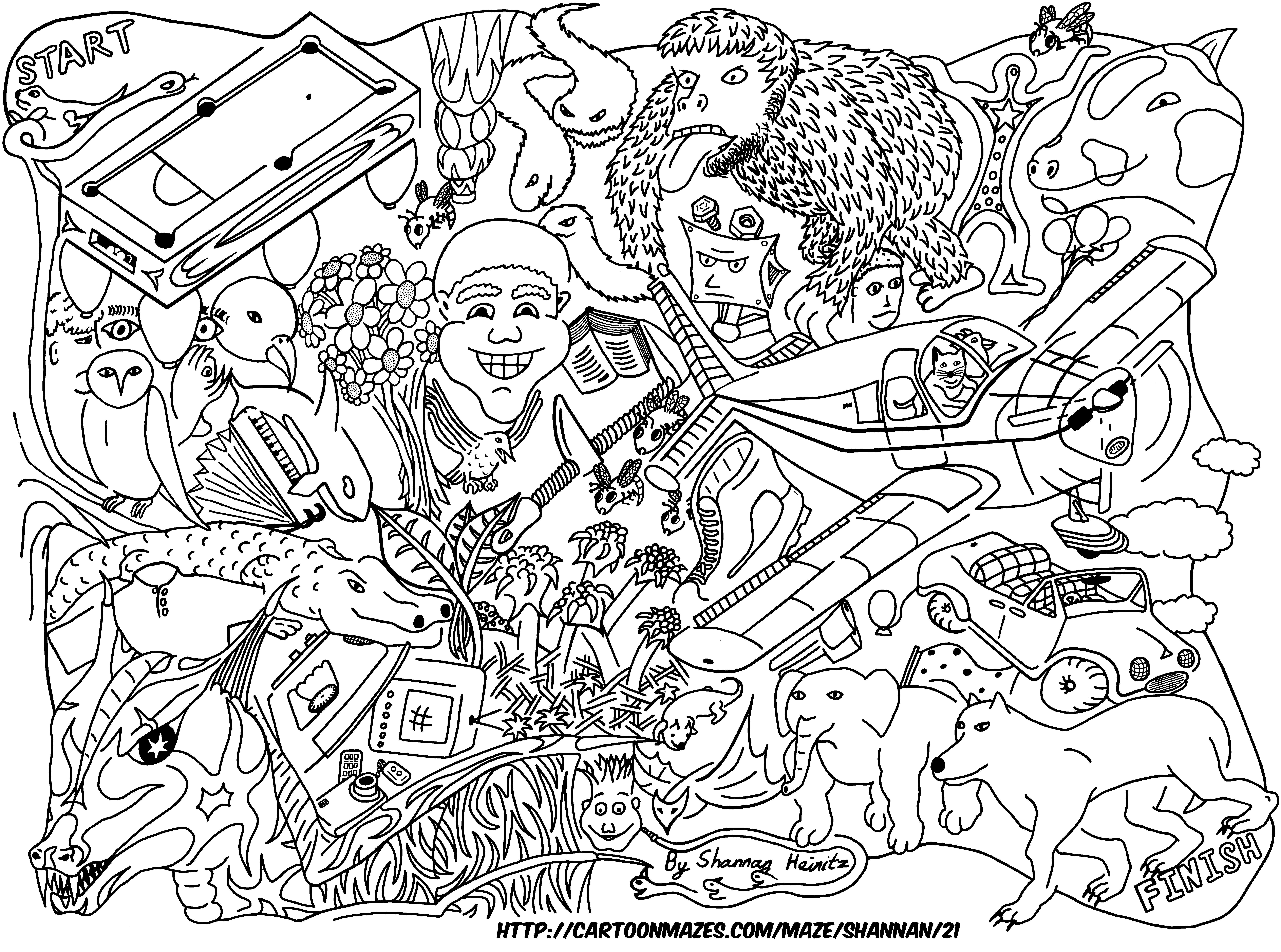 Maze Drawing at GetDrawings.com | Free for personal use Maze Drawing ...