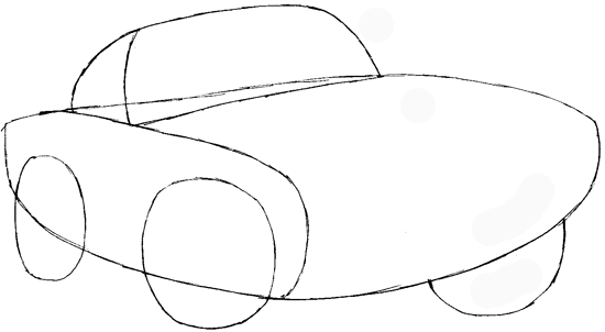550x302 How To Draw Finn Mc Missile From Pixar's Cars With Easy Step By