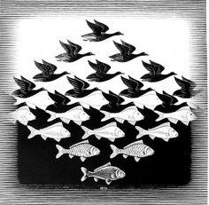 236x231 M.c. Escher Een Kopie Daarvan Hadden Mijn Ouders In De Gang Hangen