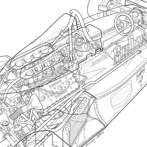 600x600 1977 Mclaren M26 James Hunt Retrogp