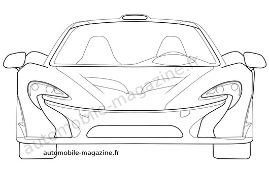 Mclaren Drawing at GetDrawings.com | Free for personal use ...