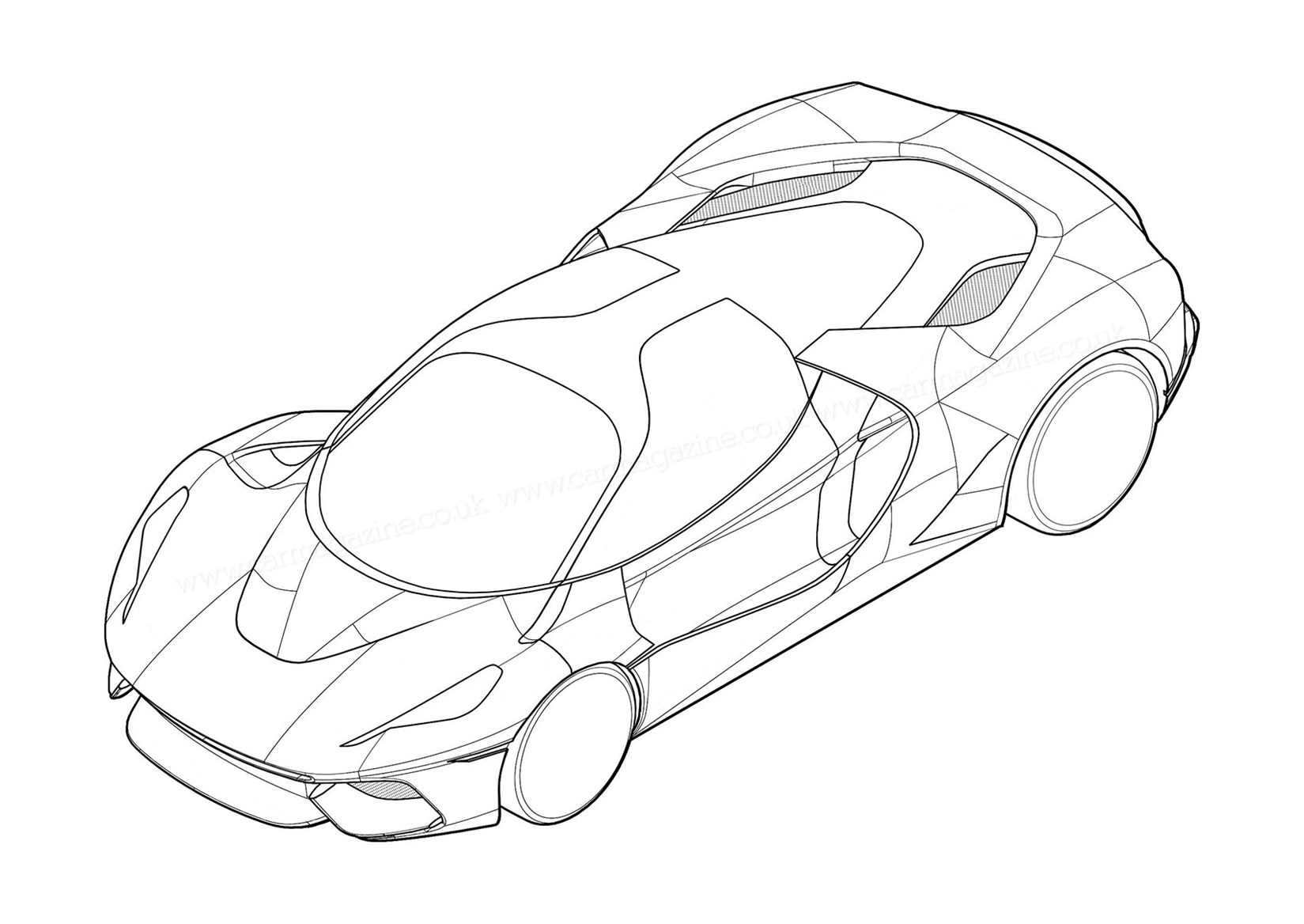 1649x1168 Mystery Ferrari Supercar Pops Up On Patent Filing By Car Magazine