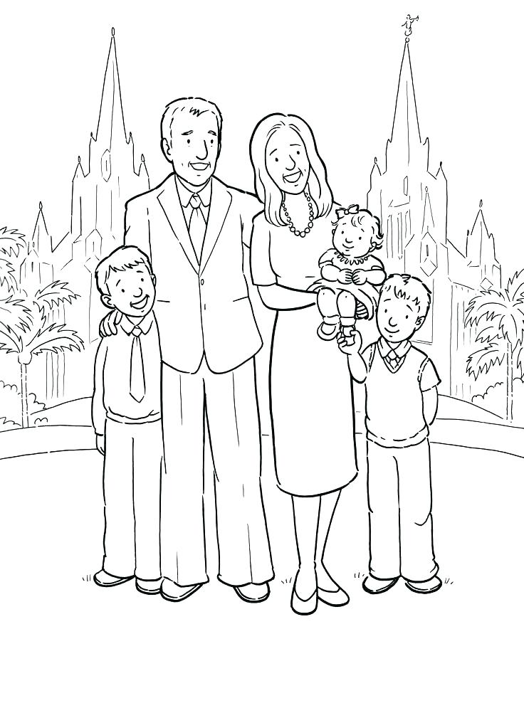 736x995 Family Coloring Pages I Love My Family Coloring Pages