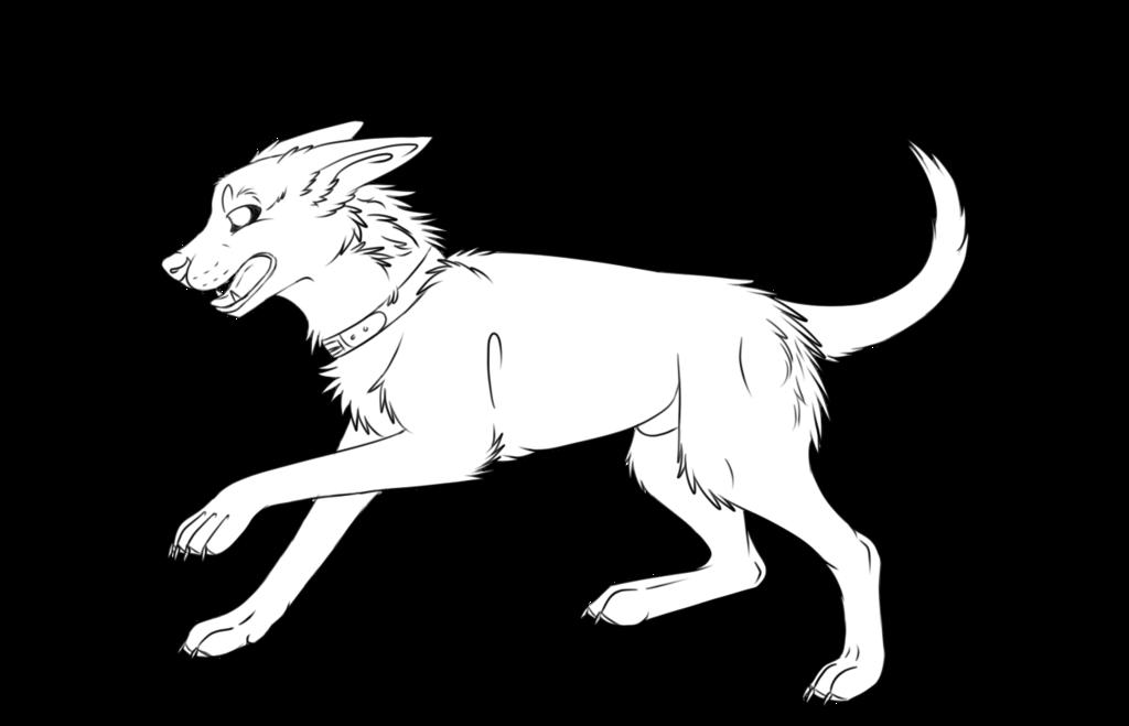 1024x659 Free Dog Lineart By Xtheundeadarmyx