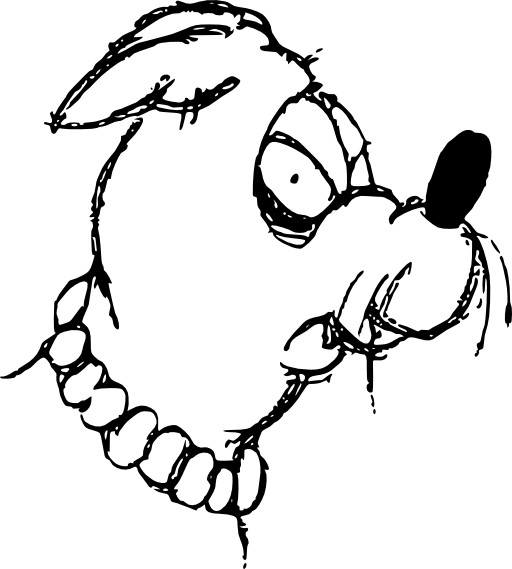512x569 Mean Dog Clipart I2clipart
