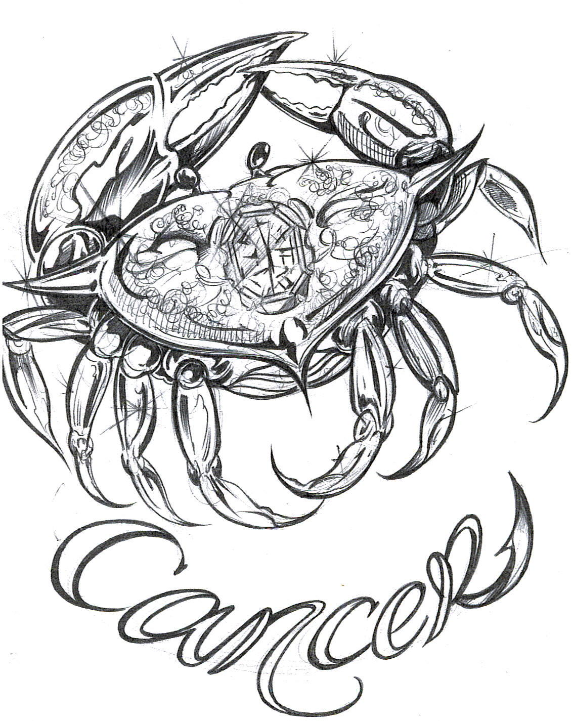1131x1425 Cancer Tattoos Designs, Ideas And Meaning Tattoos For You