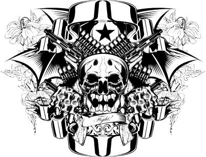 402x307 Zoom Tattoos Skull Tattoos Meaning And Drawing Arts