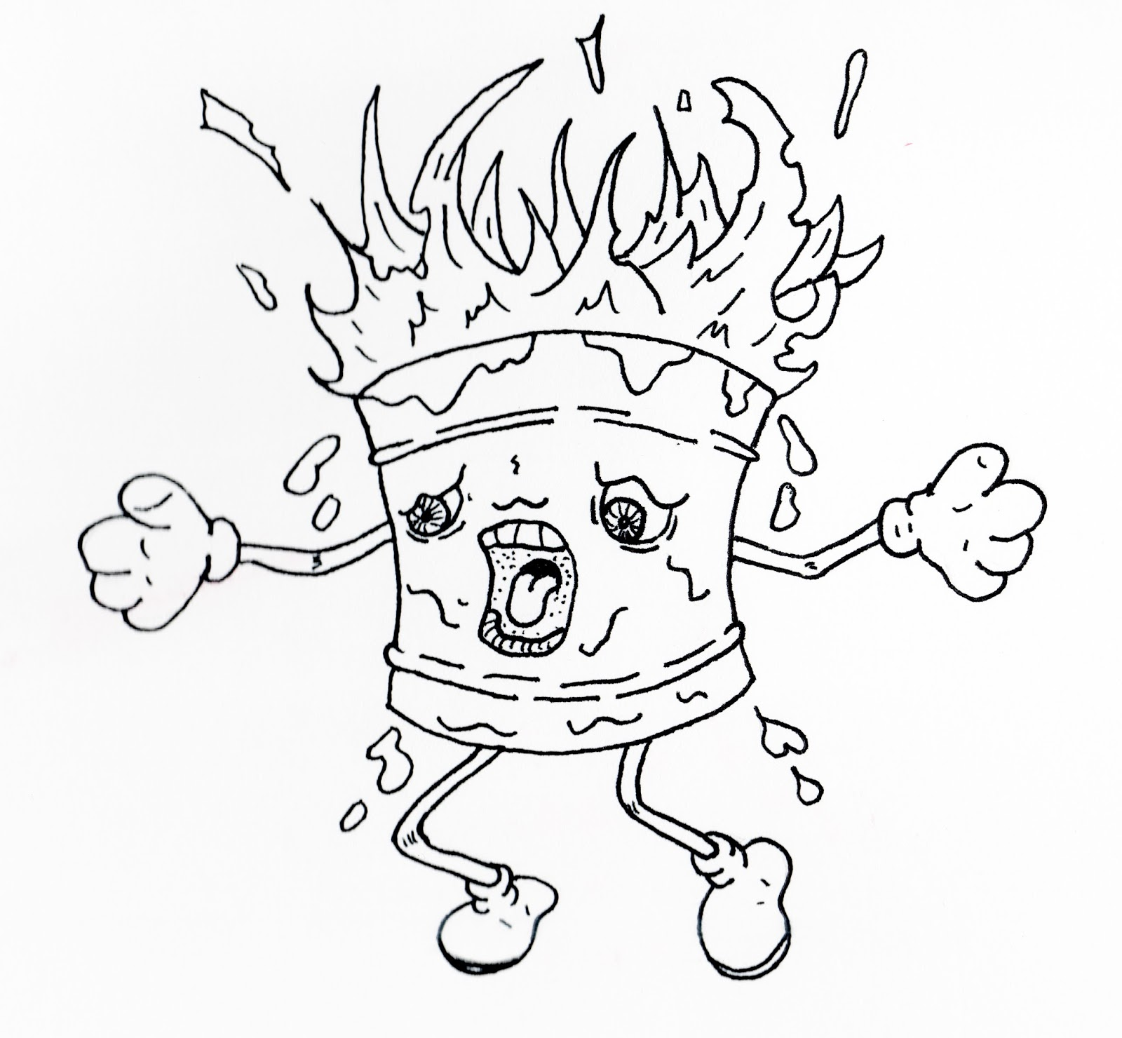 1600x1480 Jared Unzipped Draw Something Birthday Cake On Fire!