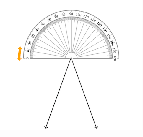 484x461 Measuring Angles Using A Protractor Basic Geometry (Video