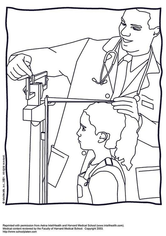 530x750 Coloring Page Measure